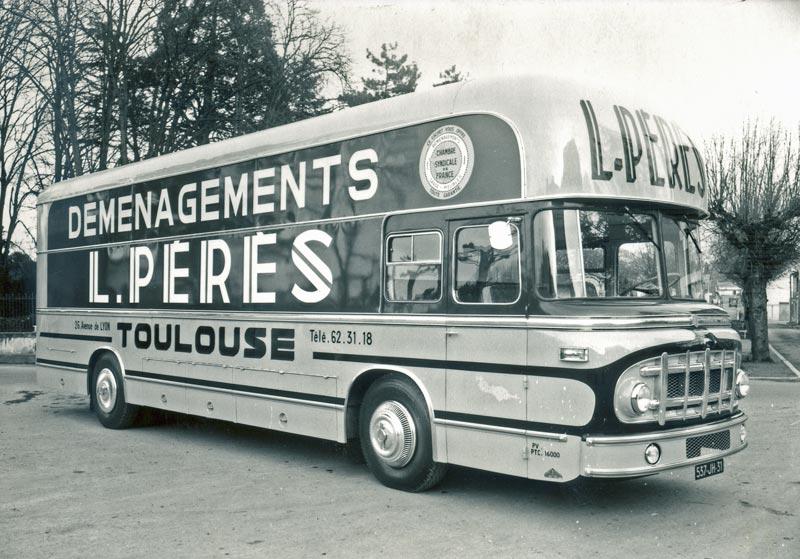 """N°20- Berliet PLR 8 MU Fourgon déménagement """"L.PERES"""" 1958 / 1961 Dubos-Berliet-fourgon-PLR1"""