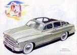 Vacances publicité Ford Vedette 1953