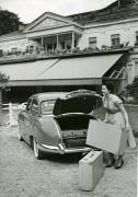 Panhard Dyna 1954 départ en vacances