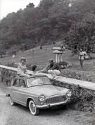 vacances campagne en Simca Aronde 1959