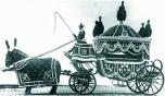 00 corbillard hippomobile 1ere classe 1900