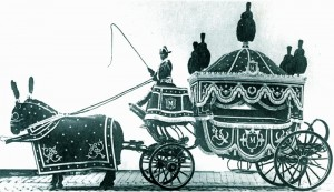 corbillard hippomobile 1ere classe 1900