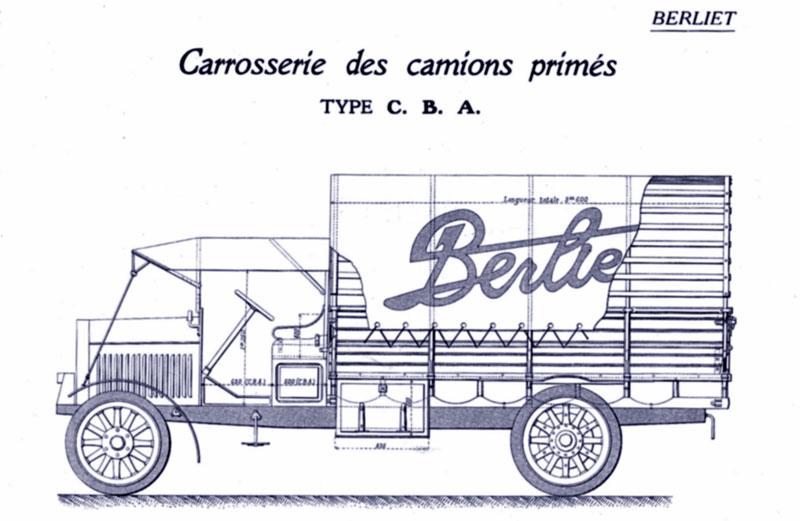 Berliet CBA 1914