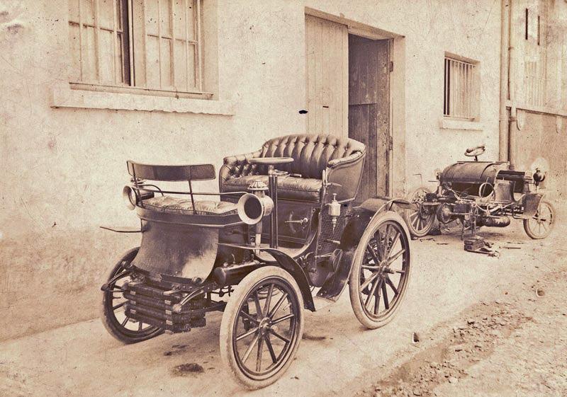 Berliet rue Sully Lyon 1899