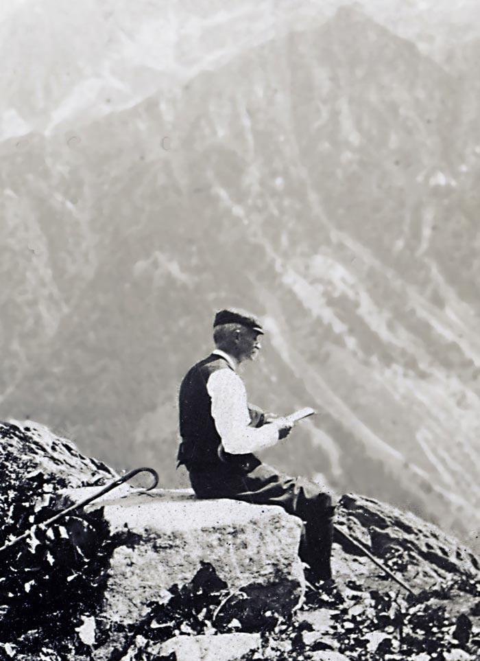 Marius Berliet Brevent 1912