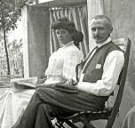 Marius Berliet et Madame en 1907