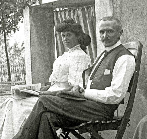 Marius Berliet et madame Savoie 1906