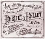 Pub Berliet Bellet vers 1890
