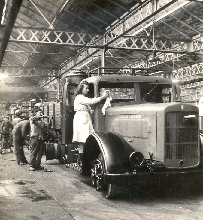 Vénissieux gazobois 1943