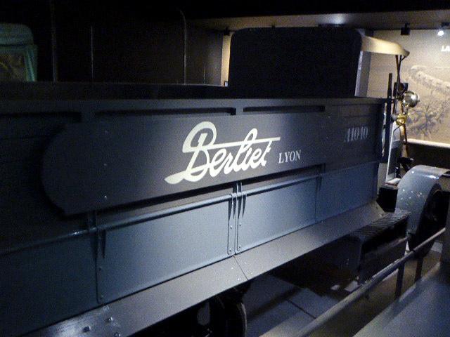 Berliet CBA Memorial verdun vue 2