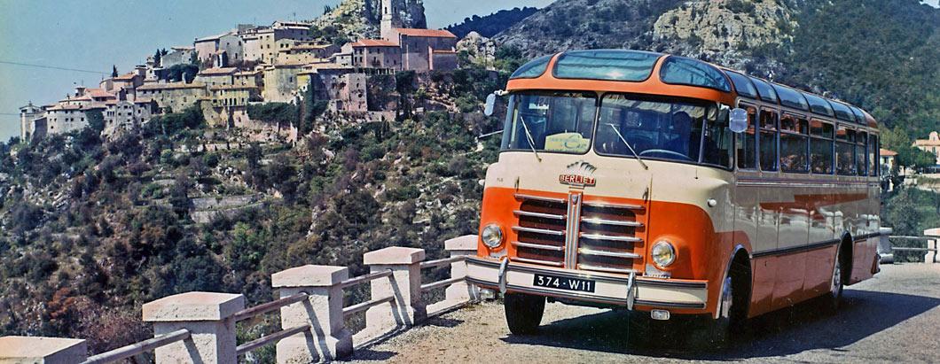 PLB Berliet autocar Côte d'Azur – 1953