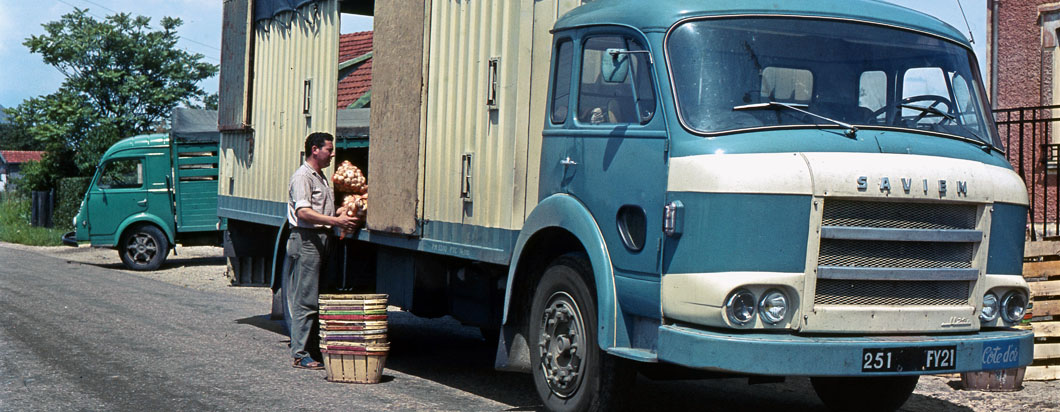 Camion Saviem JL25 primeur – 1960
