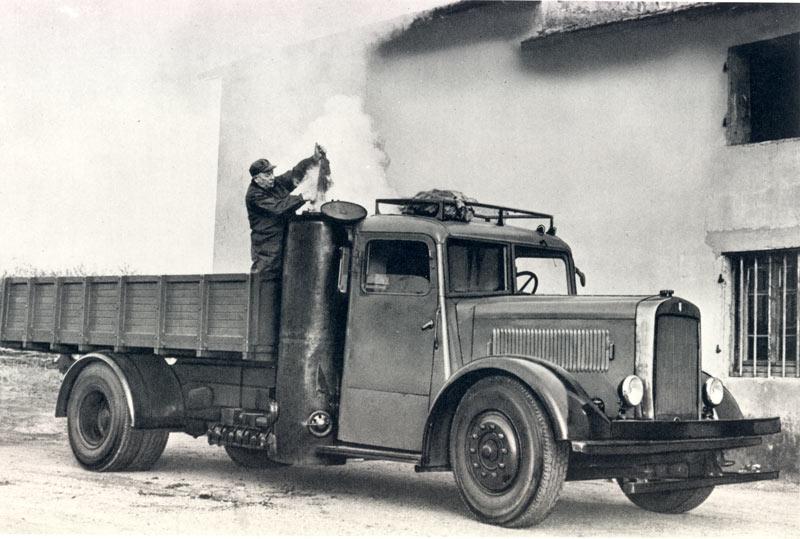 Berliet GDRAG gazogène 1945