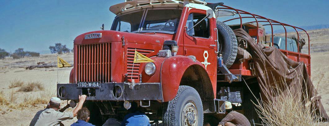 Berliet Mission Tchad – GBC8 Gazelle – 1960