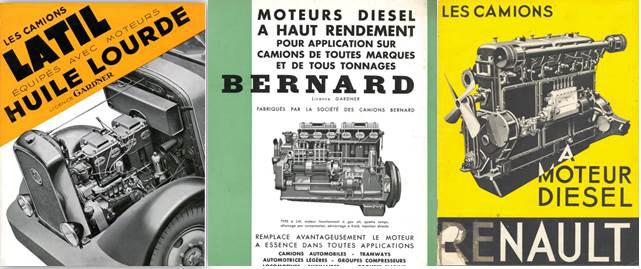 pubs moteurs diesel 1938