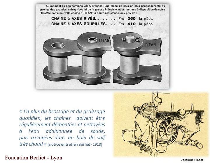 Berliet CBA chaines