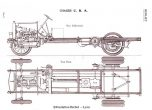 Berliet CBA plans chassis 1913