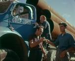 Berliet TBC8RM chauffeurs pose pipeline 1961