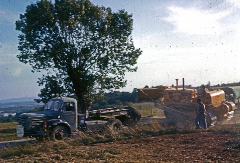 Berliet TBC8 pose pipeline 1961 vue10