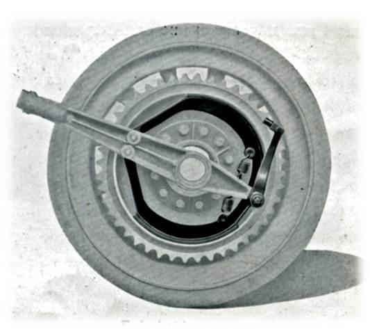 CBA site frein sur roue