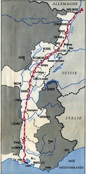 plan pipeline sud europeen 1961