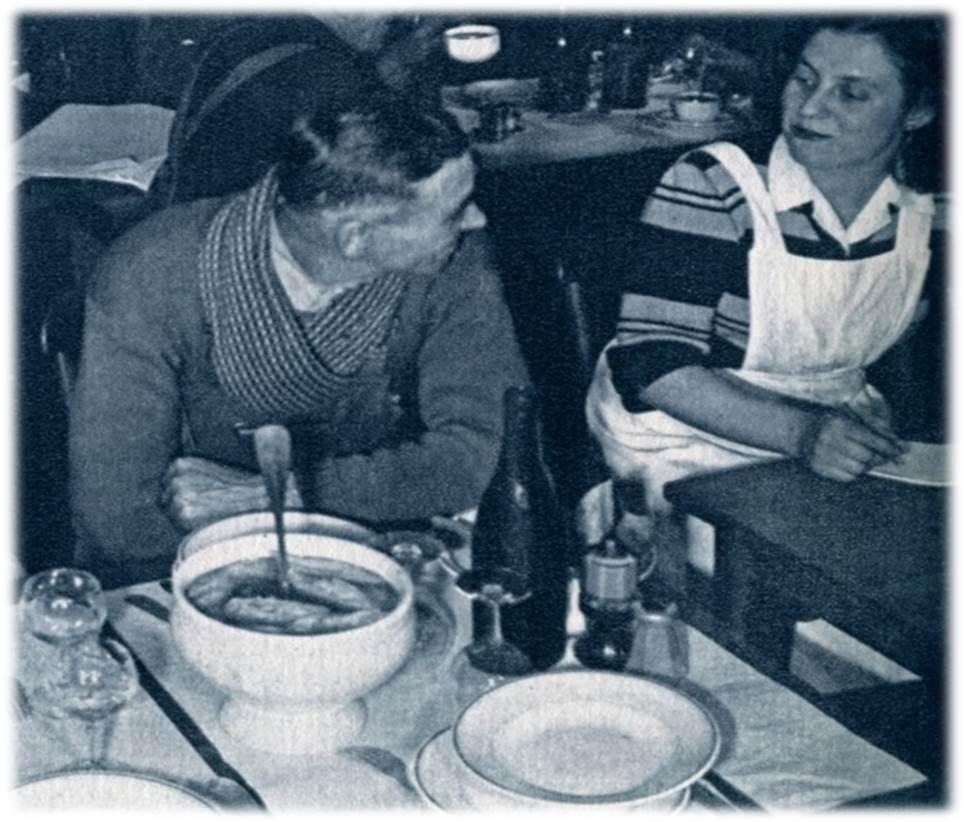 relais routier repas 1952