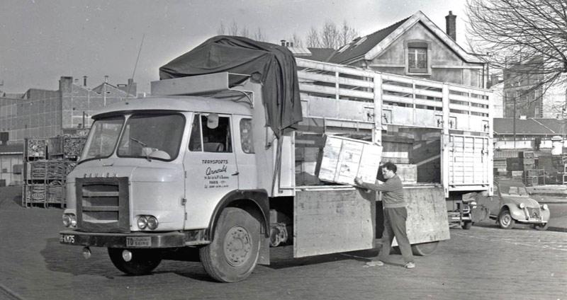 chauffeur routier 1950 1970 fondation berliet. Black Bedroom Furniture Sets. Home Design Ideas