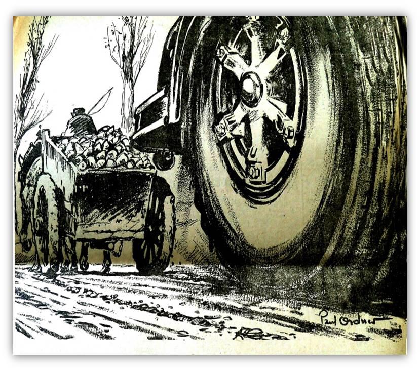 Chauffeur routier 1950 1970 fondation berliet - Charrette dessin ...