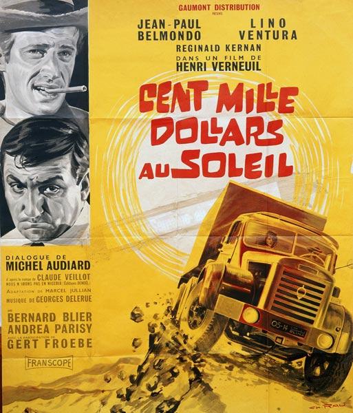 N°03 - Berliet 8 M 6X6 Gazelle 1956 100 000 dollars au soleil Affiche-film-cent-mille-dollars-au-soleil