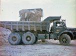 Berliet Cuba GBO15M sur un chantier 1969