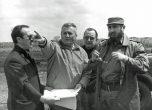 Berliet Cuba Paul Berliet et Fidel Castro site Mariel 1970