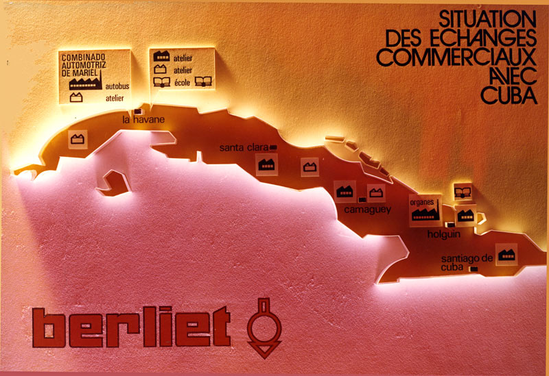 berliet-cuba-implantation-des-sites-en-1972