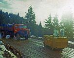 Berliet GLC8 travaux Chamrousse 1967 vue 2