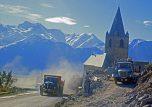 Travaux Alpe d'Huez St Ferréol 1967