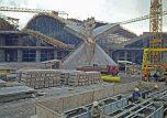 Grenoble chantier stade de glace 1967