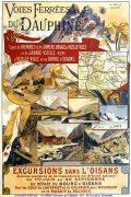 Affiche touristique VFD 1895