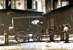 Char à bancs col Lautaret 1900