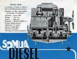 Somua moteur D615 diesel 1955