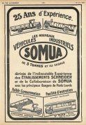 Somua publicité presse 1927