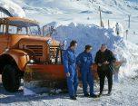 Berliet L646M3 1968 Huez chasse-neige