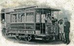 Purrey tramway Barcelone 1887