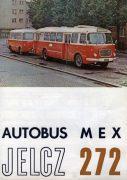 Jelcz Pologne autobus type 272 1973