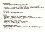 Berliet GBC8 Fiche technique 2