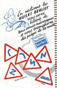 Publicité Huiles Berliet 1962