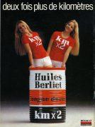 Publicité Huiles Berliet 1979