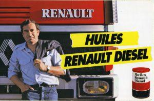 Publicité Huiles Berliet 1980