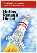 Publicité Huiles Berliet 1984
