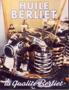 Publicité Huiles Berliet 1951