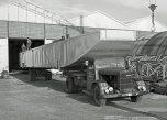 Berliet GDR Leon Fournet Jassans 1966 barge vue 1