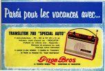vacances autoradio 1962